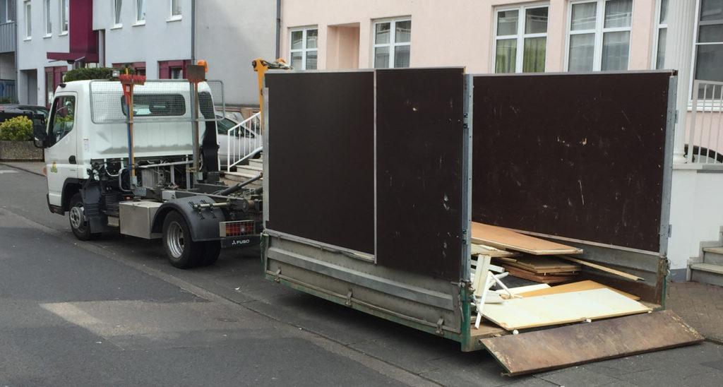 Beladung Container Köln