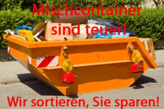 Mischcontainer in Köln sind teuer